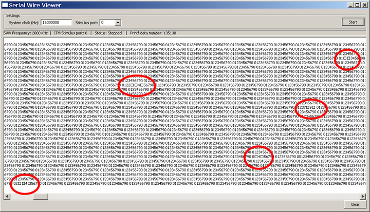 ST Link utility Serial Wire Viewer feature via ST Link 2