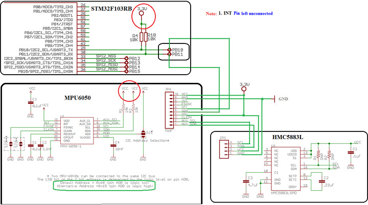 I2C1 hangs at while(!I2C_CheckEvent(MPU6050_I2C