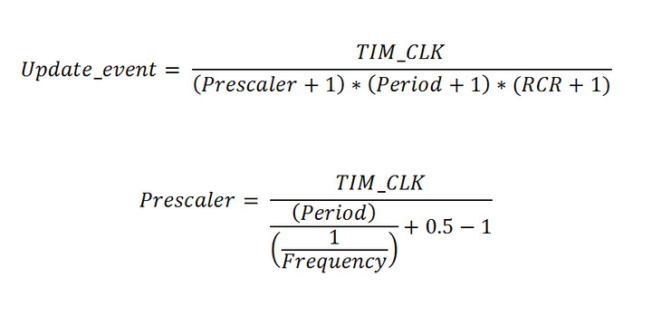 STM32 Series - Calculations of Timer Variables
