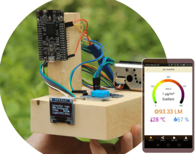 How to DIY an Air Condition Monitor and Access anywhere and