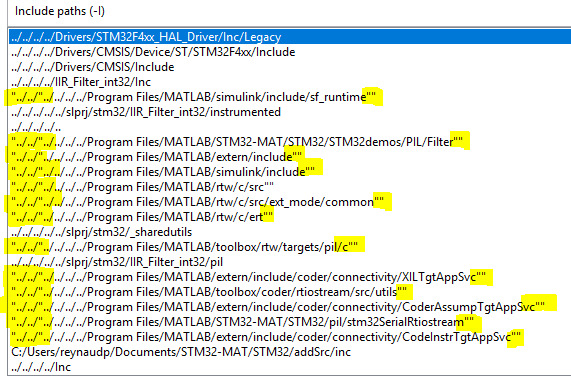 Stm32 Mat Simulink Problems