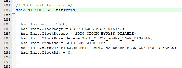 Cube4 12 SDIO generating code bug? 4bit settings generates 1B