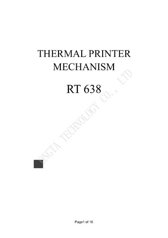STM32 with Thermal Printer